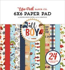 Echo Park All Boy 6x6 Inch Paper Pad (ALB207023)
