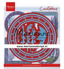 Marianne Design Creatable Blue Bell Circle (LR0648)