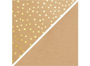 Paperpads.nl SELECT Faux Leather Papier Goud Print
