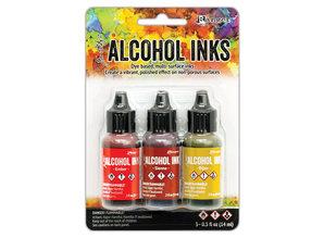 Ranger Tim Holtz Alcohol Ink Orange Yellow Spectrum (TAK69645)