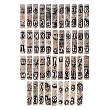 Idea-ology Tim Holtz Type Chips (TH94031)