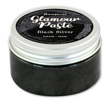 Stamperia Black Silver Glamour Paste 100ml (K3P61D)
