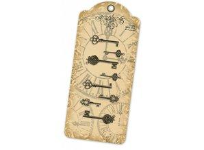 Graphic 45 Ornate Metal Keys (4500545)