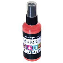 Stamperia Aquacolor Spray 60ml Rouge (KAQ009)