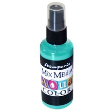 Stamperia Aquacolor Spray 60ml Turquoise (KAQ018)