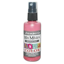 Stamperia Aquacolor Spray 60ml Iridescent Pearl Pink (KAQ023)