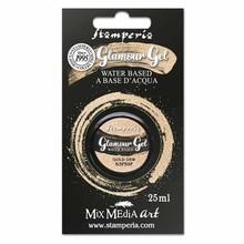 Stamperia Glamour Gel Gold Dew (20ml) (K3P59F)