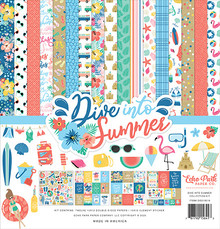 Echo Park Dive Into Summer 12x12 Inch Collection Kit (DIS210016)