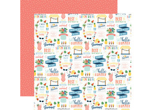 Echo Park Summertime 12x12 Inch Collection Kit (SUM209016)