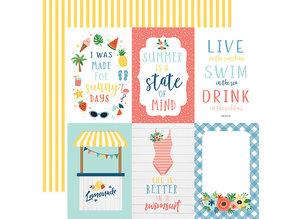 Echo Park Summertime 6x6 Inch Paper Pad (SUM209023)