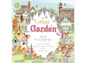 Craft Consortium Cottage Garden 12x12 Inch Paper Pad (CCPPAD016)