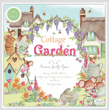 Craft Consortium Cottage Garden 6x6 Inch Paper Pad (CCPPAD016B)