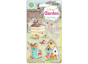 Craft Consortium Cottage Garden Birds and the Bees Clear Stamps (CCSTMP031)
