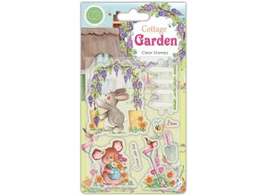 Craft Consortium Cottage Garden Green Fingers Clear Stamps (CCSTMP032)