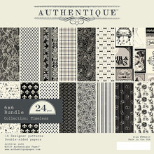 Authentique Timeless 6x6 Inch Paper Pad (TML010)