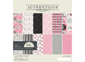 Authentique Flawless 6x6 Inch Paper Pad (FLA008)