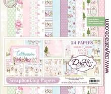 Dayka Celebracion Nina 12x12 Inch Paper Pack (SCP-3028)