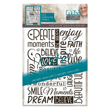 COOSA Crafts Inspire by Margreet Embossing Folder (COC-114)