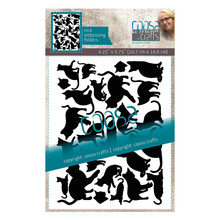 COOSA Crafts Cats by Famke Embossing Folder (COC-116)