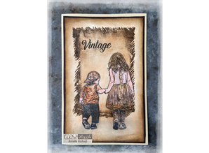 COOSA Crafts Ripped Jeans Clear Stamps (COS-106)
