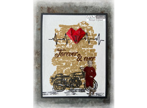 COOSA Crafts Love Notes Clear Stamps (COS-107)