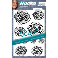 COOSA Crafts Rose Patch Clear Stamps (COS-108)