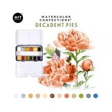 Art Philosophy Watercolor Confections Decadent Pies (584276)
