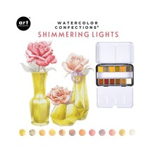 Art Philosophy Watercolor Confections Shimmering Lights (590260)