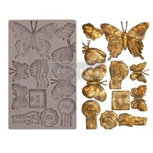 Re-Design Butterfly In Flight 5x8 Inch Decor Mould (643140)