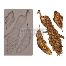 Re-Design Regal Peacock 5x8 Inch Decor Mould (645564)
