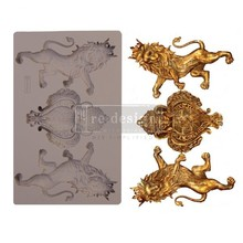 Re-Design Royal Emblem 5x8 Inch Decor Mould (647414)