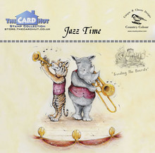 The Card Hut Jazz Time Clear Stamps (CCTBJT)