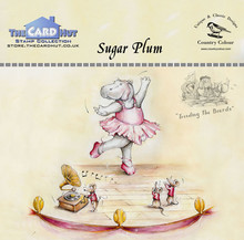 The Card Hut Sugar Plum Clear Stamps (CCTBSP)