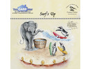 The Card Hut Surf's Up Clear Stamps (CCTBSU)
