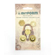 Mitform Screw 2 Metal Embellishments (MITS048)
