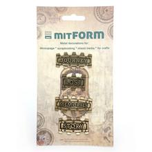 Mitform Fame 7 Metal Embellishments (MITS031)
