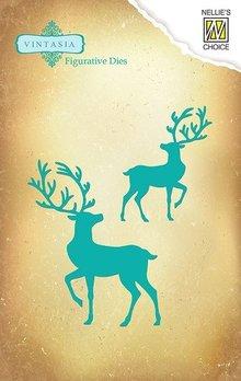 Nellie Snellen Vintasia Die Reindeer (VIND019)