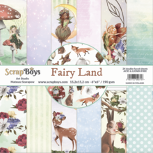 ScrapBoys Fairy Land 6x6 Inch Paper Pad (FALA-09)