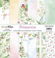 ScrapBoys Primeravera 12x12 Inch Paper Set (PRIM-08)