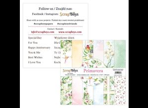 ScrapBoys Primavera 6x6 Inch Paper Pad (PRIM-09)