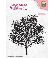 Nellie Snellen Tree Clear Stamp (SIL063)