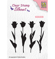 Nellie Snellen Tulips Clear Stamp (SIL066)