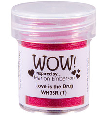 WOW! Love is the Drug Embossing Powder (WH33R)