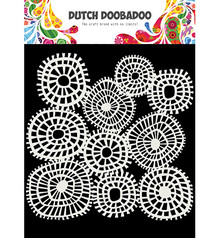 Dutch Doobadoo Dutch Mask Art A5 Linnen Circles (470.715.618)