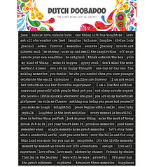 Dutch Doobadoo Sticker A5 Quotes (491.200.001)