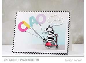 My Favorite Things Pumped-Up Alphabet Clear Stamps (CS-471)