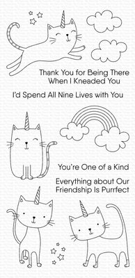 My Favorite Things Caticorn Clear Stamps (CS-453)