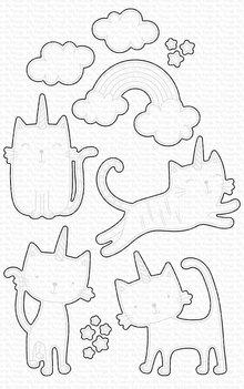 My Favorite Things Die-namics Caticorn (MFT-1688)