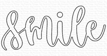 My Favorite Things Die-namics Scripty Smile (MFT-1728)