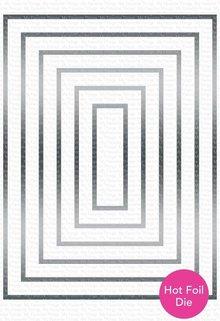 My Favorite Things Impressive Die-Namics Foiled Frames Rectangle (MFT-1720)